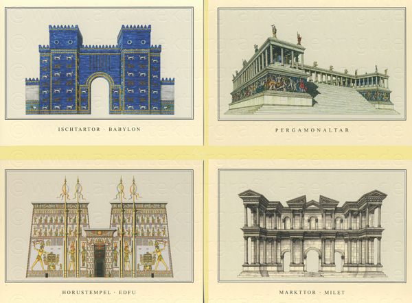 Postkartenset 4 Motive