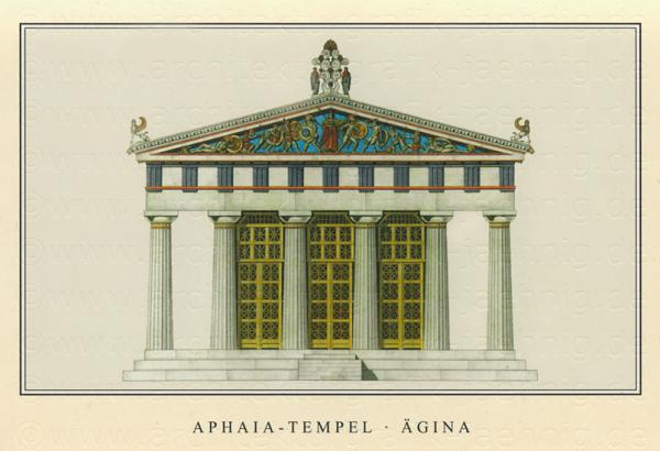 Aphaia Tempel von Ägina